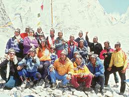 Scott Ficher Team Everest 1996
