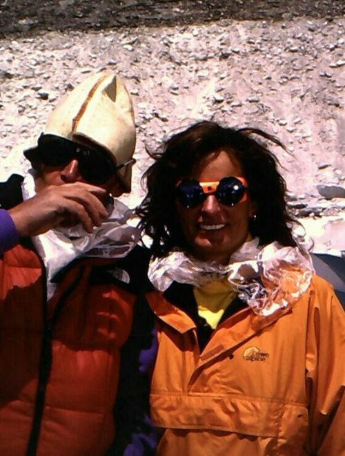 Anatoli Boukreev Lene Gammelgaard Everest Base Camp