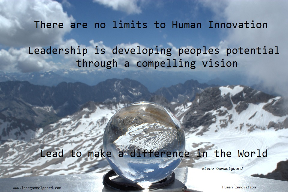 Innovate the future of I4.0 to lead for a desirable future for Humankind