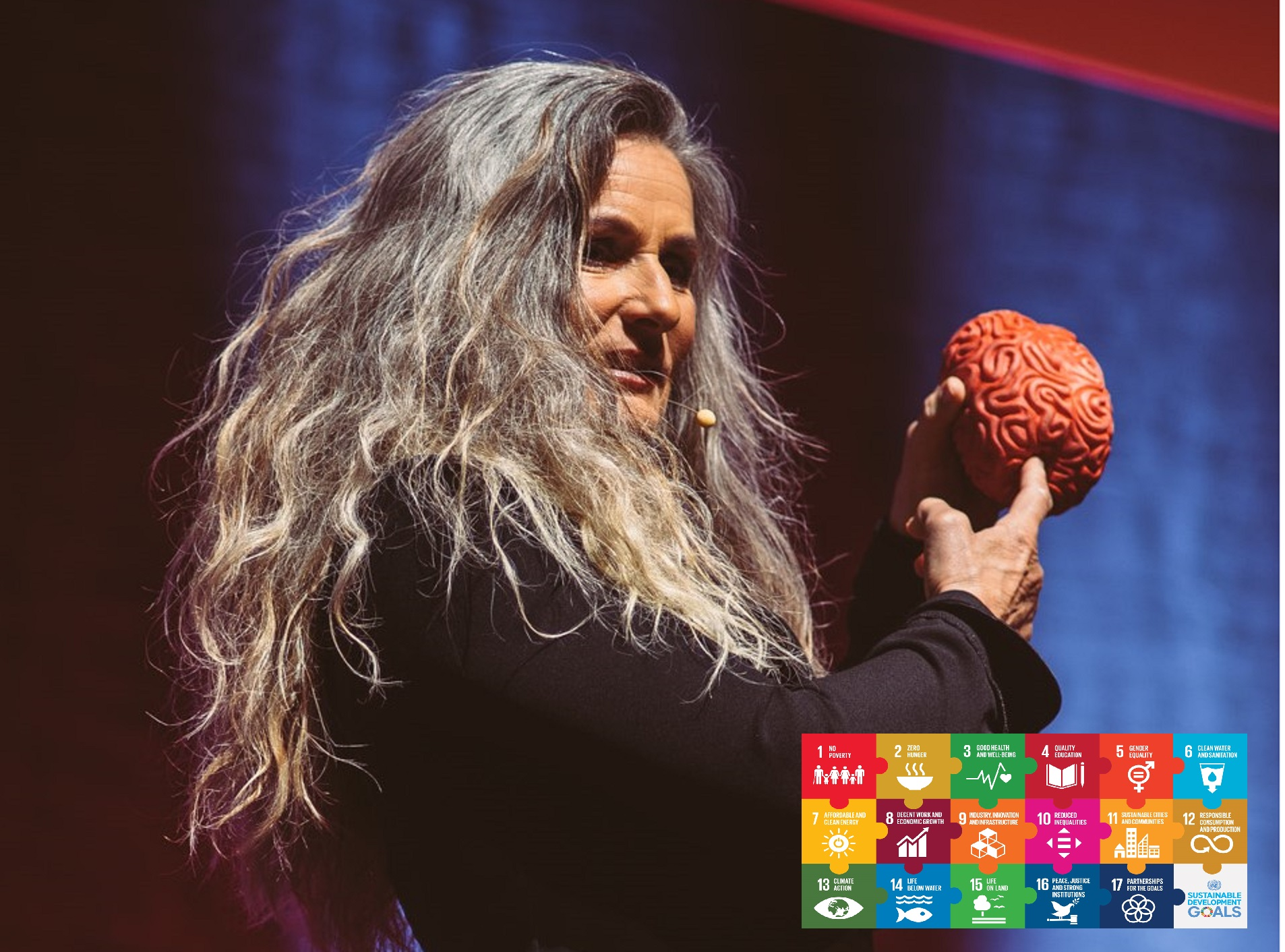Lene Gammelgaard - Business Talk - Your brain is your GPS to a SDG sustainable future strategy