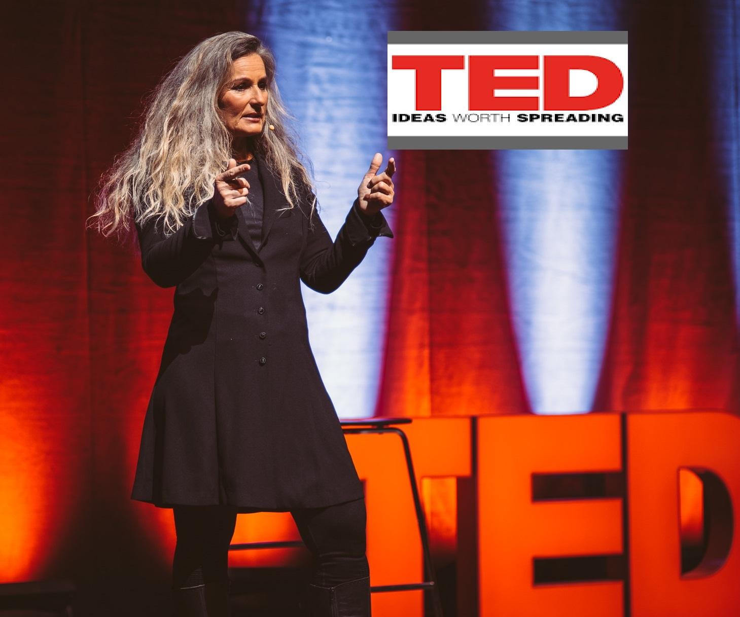 Lene Gammelgaard TEDxTALK Hjernen og bæredygtighed