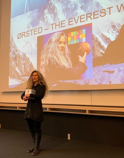 Business Talk - Fighting climatechange THE EVEREST WAY - Lene Gammelgaard